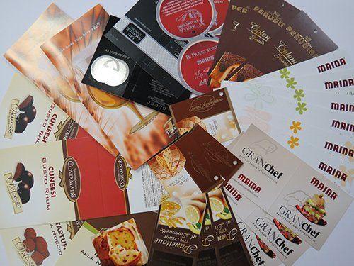 carta di menu