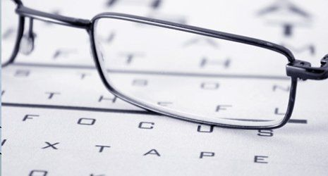 Eyes Examination and glasses diopter