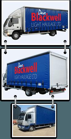 Haulage - Bradford, West Yorkshire - Dave Blackwell Light Haulage Ltd - Haulage Truck