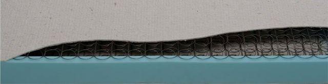 dettaglio interno materasso Chiara Box Ignifugo