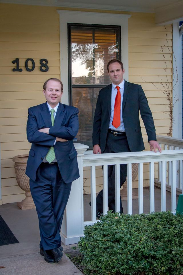 Chad M. Green and Joshua D. Gillispie in Little Rock