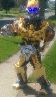 Transformer Bumble Bee look alike