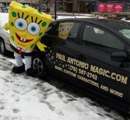 its a sponge guy and my car