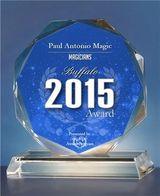 Best of Buffalo 2015 Magician award