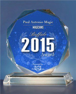 Best of Buffalo 2015 Magician award