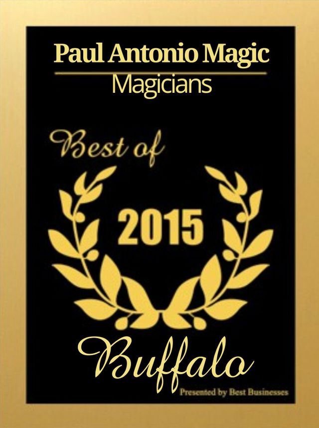 Best of 2014 Magician award