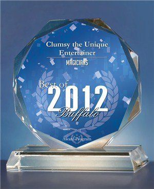 Best of Buffalo 2012 Magician award