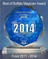 Best of Buffalo 2014 Magician award