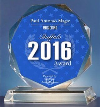 Paul Antonio Exclusive Award