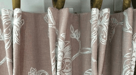 Hand-made curtains