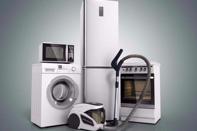 dei fornelli e altri elettrodomestici