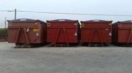Container per lo stoccaggio di rifiuti