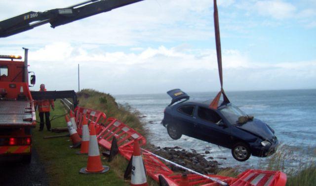 Accident pickup