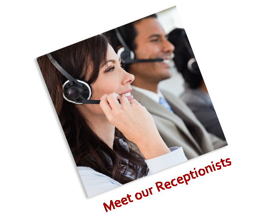 Meet our receptionists