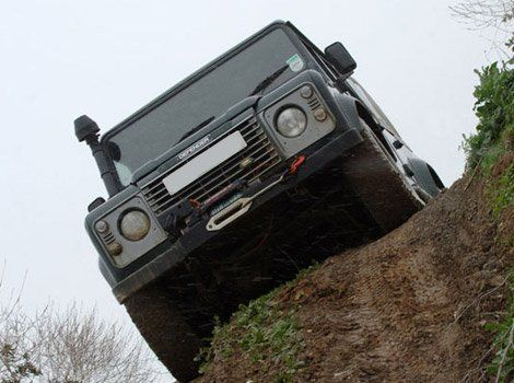 Land Rover Defender hire