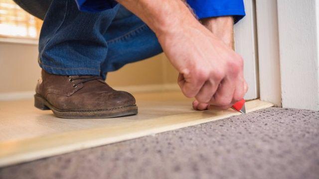 living room aqua flooring