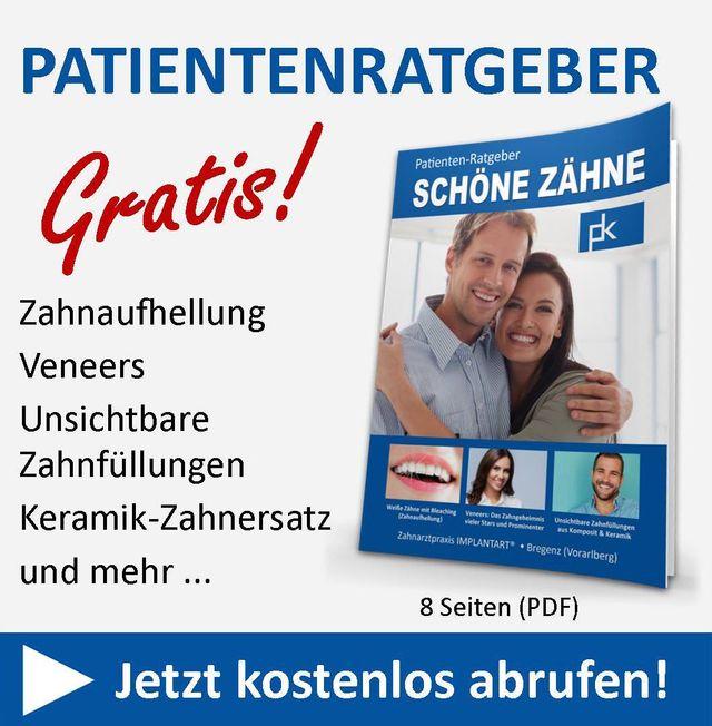Gratis-Ratgeber Schöne Zähne Bregenz