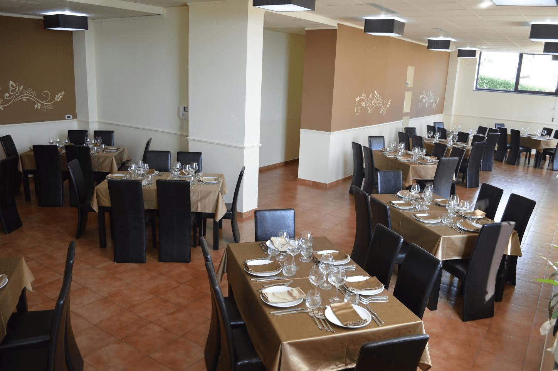 ristorante all'interno dell'hotel