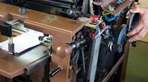 macchina tipografica