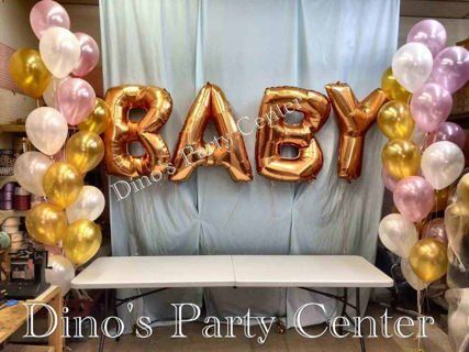 Baby Balloon Letters Party Supplies In Philadelphia PA