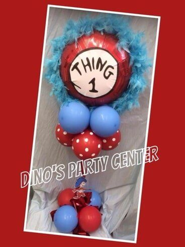 Centerpieces philadelphia pa dinos party center balloon 1 thing centerpiece party supplies in philadelphia pa junglespirit Images