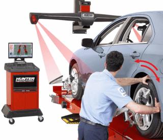 raddrizzatura laser e computerizzata dei pneumatici