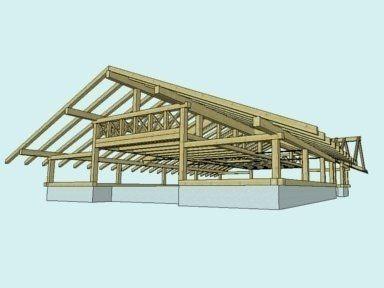 tetti, coperture in legno, tetti in legno