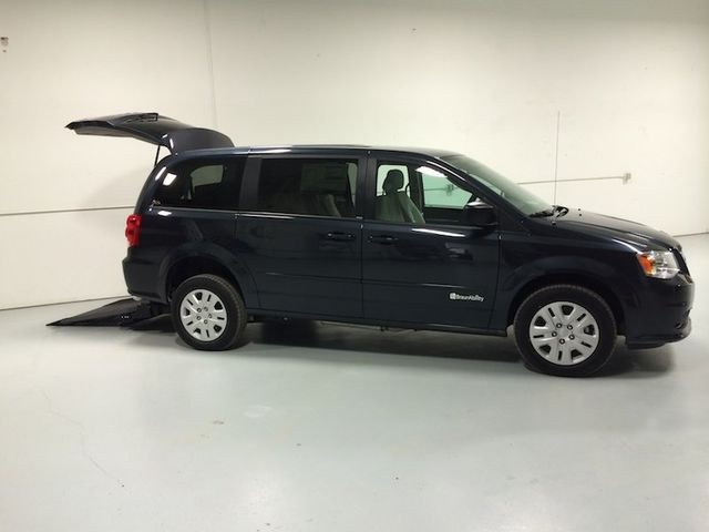 Dodge Grand Caravan, Silver With Gray