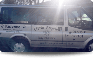 Little angels School bus