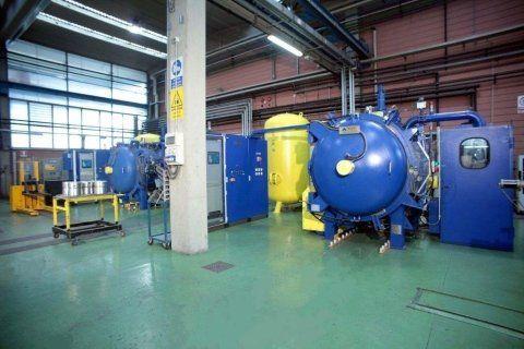 Macchinari per trattamenti termici e termochimici dei metalli