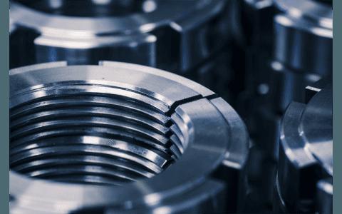 Manufatti metallici dopo la sabiatura