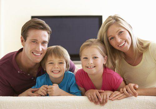 Famiglia felice a Vicenza