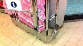 arredamento in acciaio per supermercati