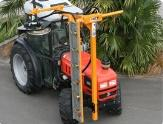 Horticulture machine after repair