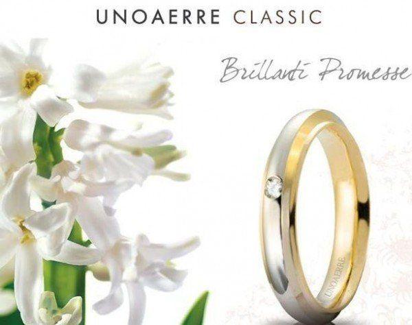 Fede marca Unoaerre Classic, brillanti promesse