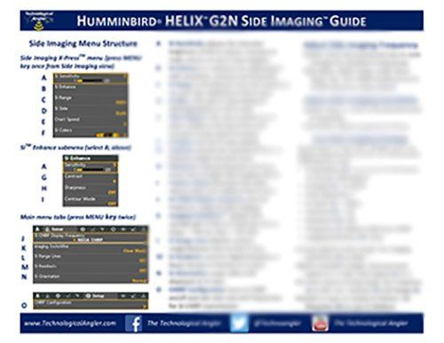 Humminbird HELIX G2N Reference Guides