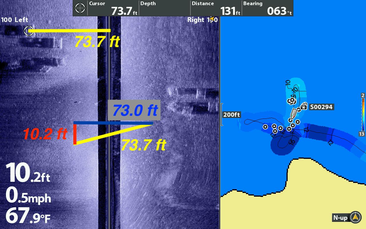 Understanding Side Imaging Range
