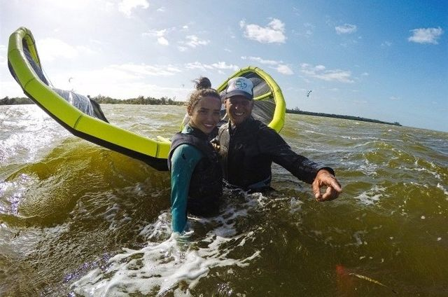 Kitesurfing Trip to Isla Blanca with Mexican Caribbean Kitesurf