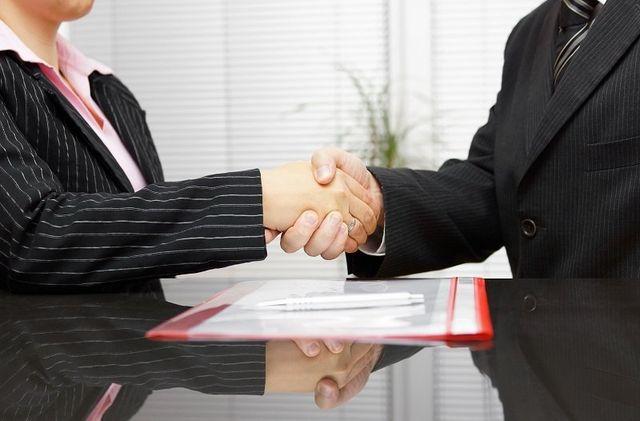 Avvocato e assistito in sede di appuntamento