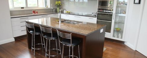 Kitchen remodelling in process in Tauranga