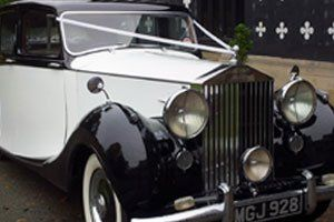 Tailored wedding car hire