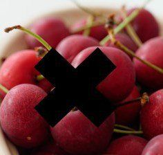 cherries are toxic to dogs