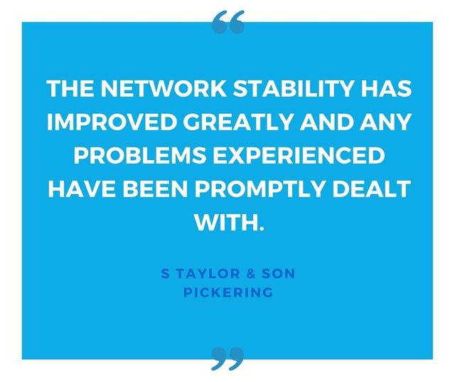 network stability improvements review