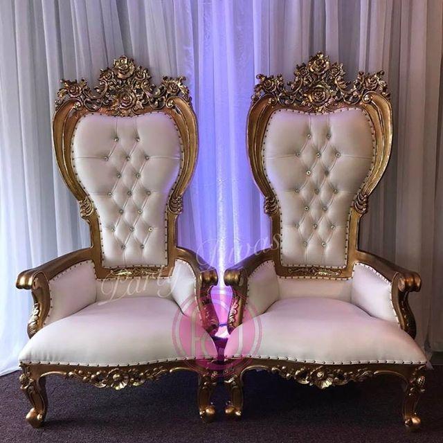 Monaco Throne Chair