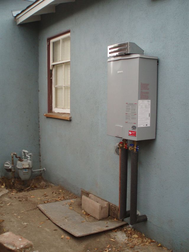 Tankless Water Heater Installation Los Angeles Ca