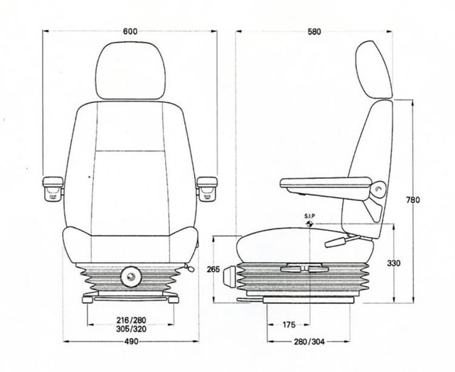 Mining Truck Seats | Industrial Seating Australia