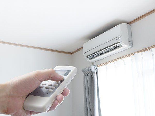 Accendendo l'aria condizionata