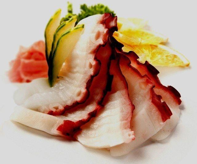 sashimi di polpo