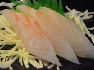 sashimi di dentice rosso