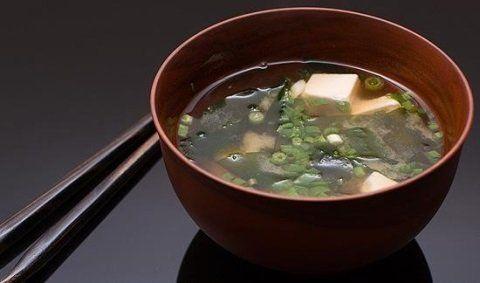 una zuppa di verdure